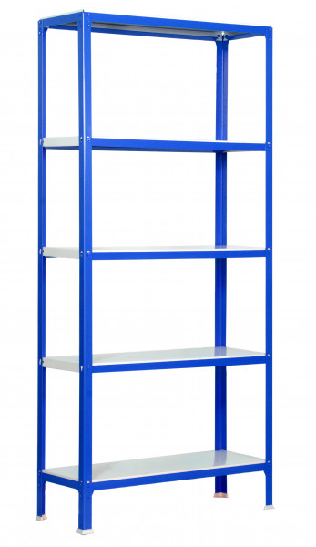 ESTANTERIA,1800x800X400 HOMECLICK COLOR MINI 5/400 AZUL/BLANCO