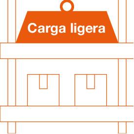 Estantería Carga Ligera (hasta 300 Kg/Estante)